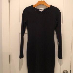 Parker black mini dress